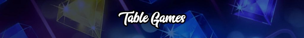 Table Games banner