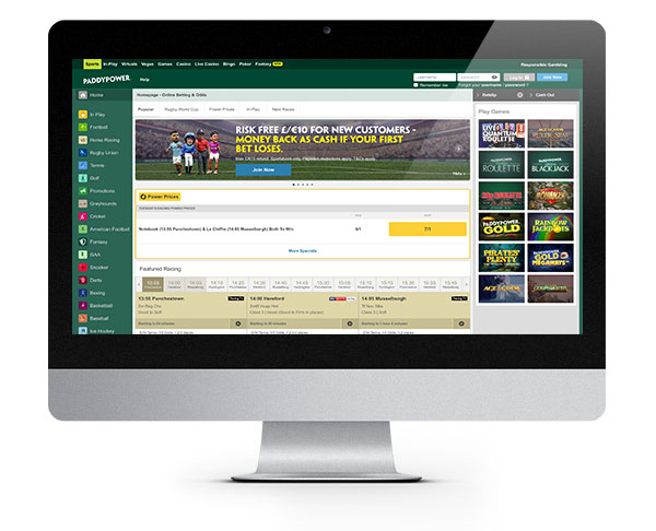Paddy Power Desktop